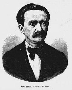 Portre of Sabina, Karel