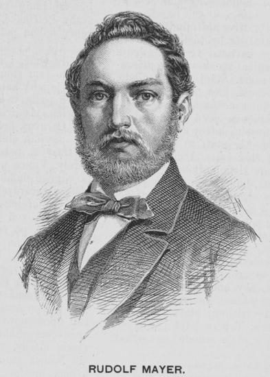 Portre of Mayer, Rudolf