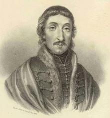 Portre of Csokonai Vitéz Mihály