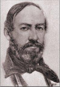 Portre of Vörösmarty Mihály
