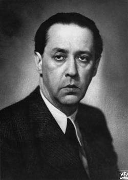 Portre of Márai Sándor