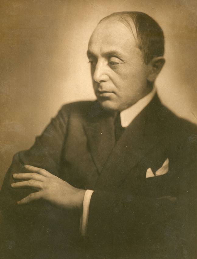 Portre of Szép Ernő