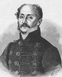 Portre of Kisfaludy Sándor
