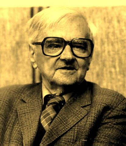 Portre of Weöres Sándor