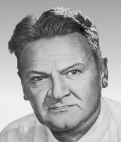 Portre of Broniewski, Władysław