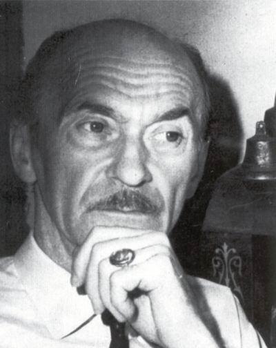 Portre of Jékely Zoltán