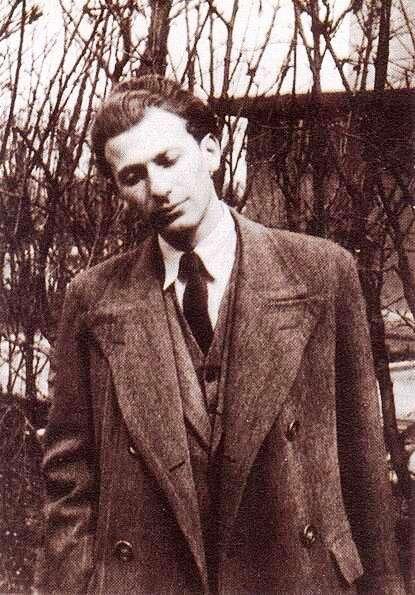 Portre of Radnóti Miklós