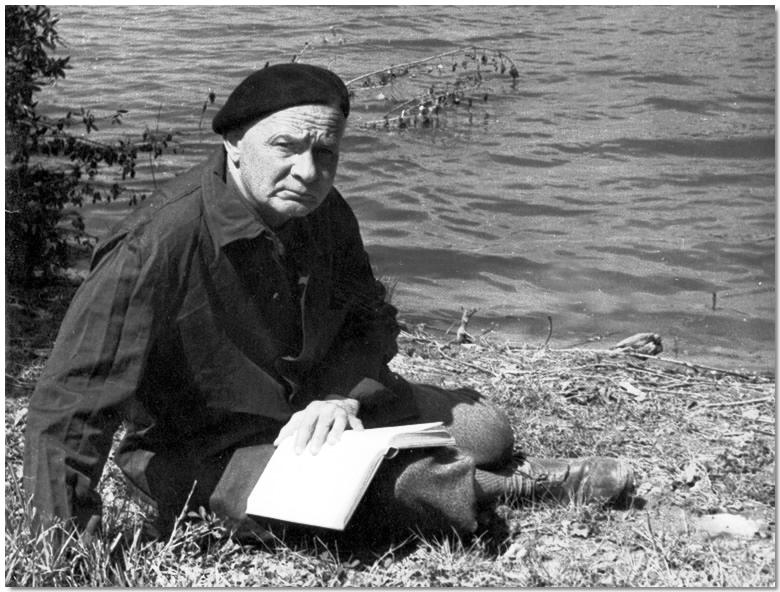 Portre of Hamvas Béla
