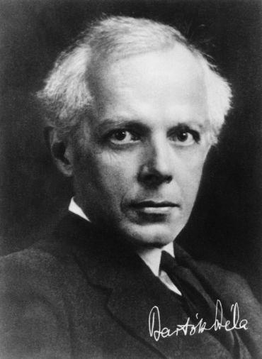Portre of Bartók Béla