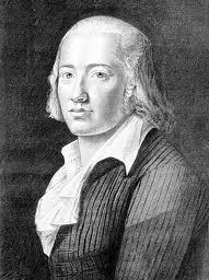 Portre of Hölderlin, Friedrich